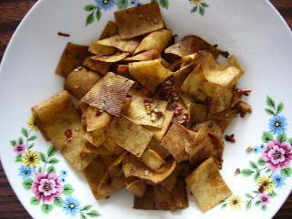 ピリカラ干豆腐~召し上がれ