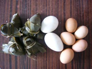 ちまきと卵