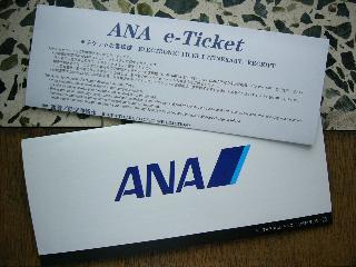 ANAのチケット~eチケットってなんですか?中国でも使えるんですか?
