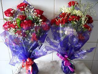先生に送る花~15本ずつ