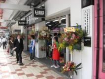 6月7日オープンした「K-BOOKSなんば弐番館」の様子(11:10頃)