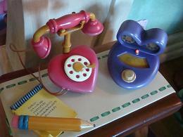 ミニーちゃんの電話