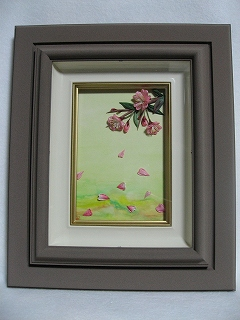 つまみ絵 桜1