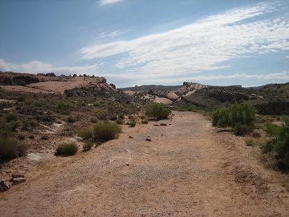 デリケートアーチのトレイル1