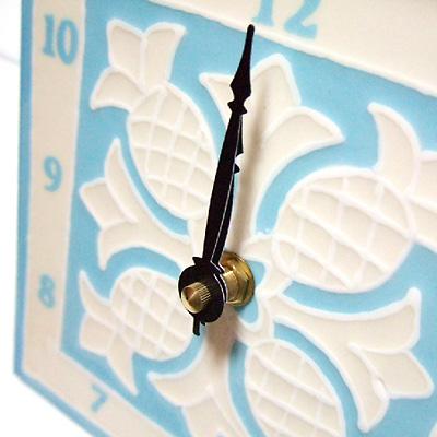 キルトタイル時計