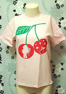 88tees プリントTシャツ very cherry