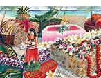 ハワイアンクリスマスカード