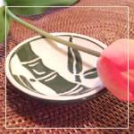 jeff-Lee ハワイアン陶器 わさび小皿5枚セット