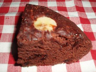 炊飯器 de チョコバナナケーキ1