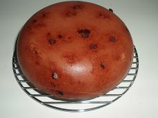 炊飯器 de チョコバナナケーキ4