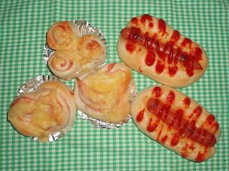 お惣菜パンイロイロ2