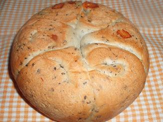 黒ゴマチーズ炊飯器パン