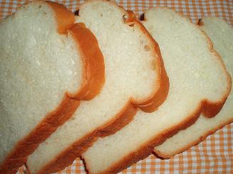 ハチミツとクリームチーズの食パン