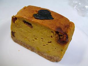 yukiちゃん パンプキンチーズケーキ1