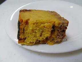 yukiちゃん パンプキンチーズケーキ2