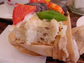 パスト 海老と季節野菜のブルスケッタ3