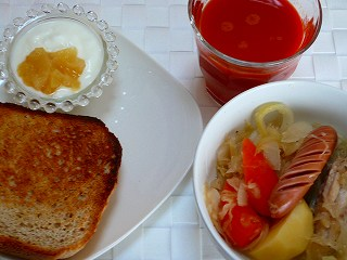 朝・昼兼用ご飯