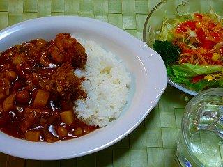 野菜とお豆のカレー