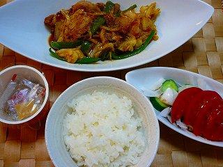 豚バラ肉とキャベツの味噌炒め