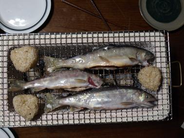 5岩魚七輪に