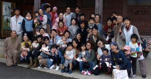 「つなか#12441;る命 福島」20111011集合写真