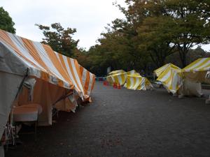 強風て#12441;倒れるテント