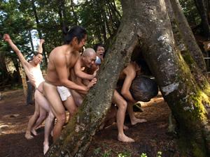 12位山麻良渡し神事2011.