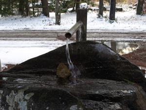 4分水嶺の水