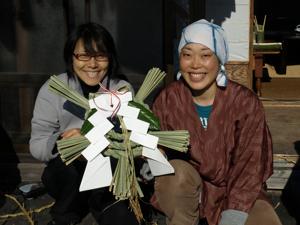 23注連縄づくり2011-4