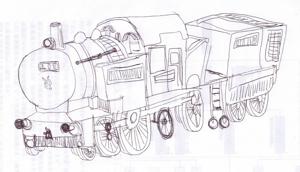 2U太の絵2012023機関車
