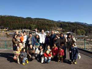 放射能デトックス合宿2012年2月コース集合写真