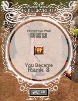防護壁ランク8(倉庫ちゃん)