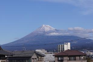 1月3日の富士山