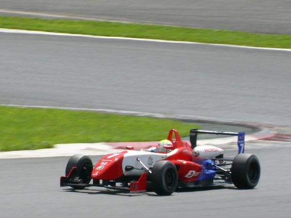 F3 Round 16 FUJI 山本尚貴選手