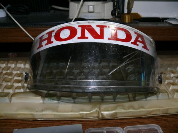 Hondaヘルメットシールド