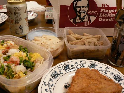 2008年3月4日夕食
