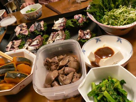 2008年3月11日夕食