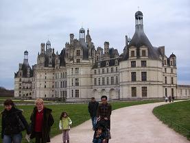 Chambordのお城