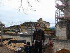 Chinonのお城