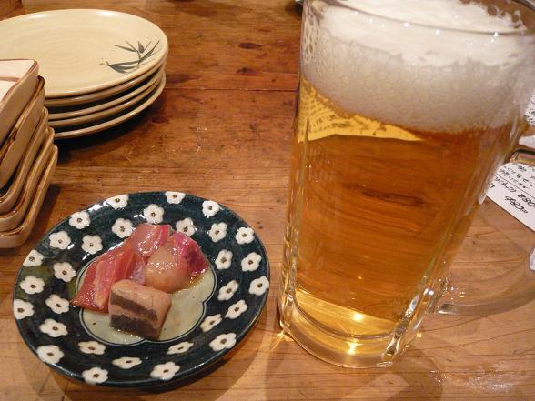 海老 ビール