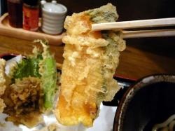 麦 天ぷら 3 .