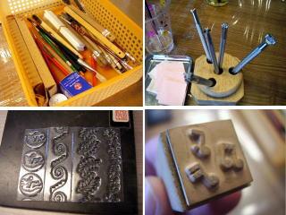 シルバーアクセサリー作りの道具