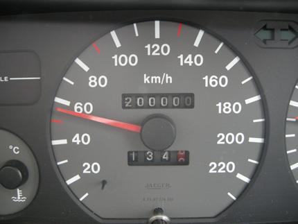 20万キロ!