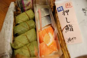 090513柿の葉寿司