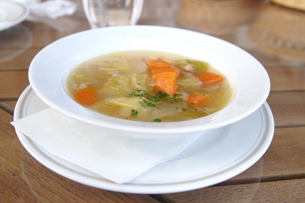 スープ 野菜がたくさんはいってたよ