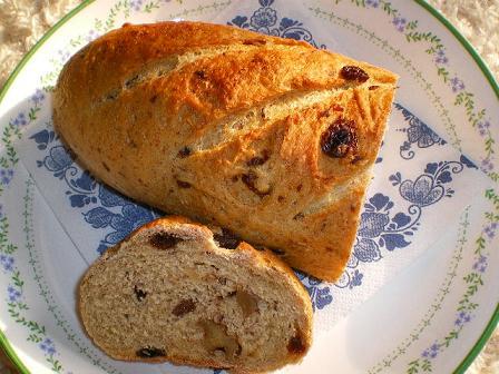 手捏ねパン
