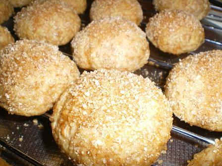 ココナッツ焼きドーナツ