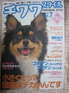 0803 012 チワワスタイルの雑誌