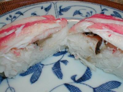 ズワイ蟹寿司04