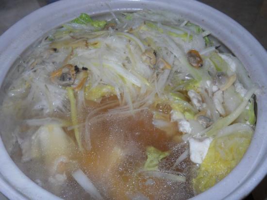 白菜豚バラ鍋 (3)